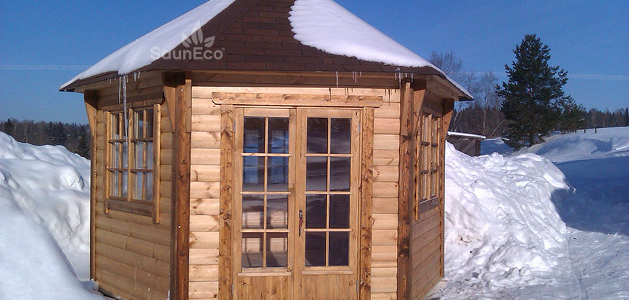 Large Spacious Gardenhouse-Grillhouse from Sauneco