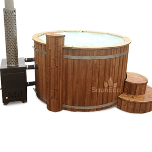 Luxurious hot tub jacuzzi from Sauneco