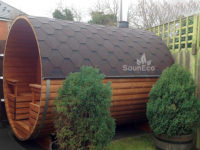 Barrel sauna review for Sauneco
