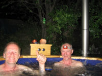 Hot tub review for Sauneco