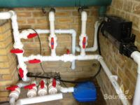 Swimming pool heater review for Sauneco